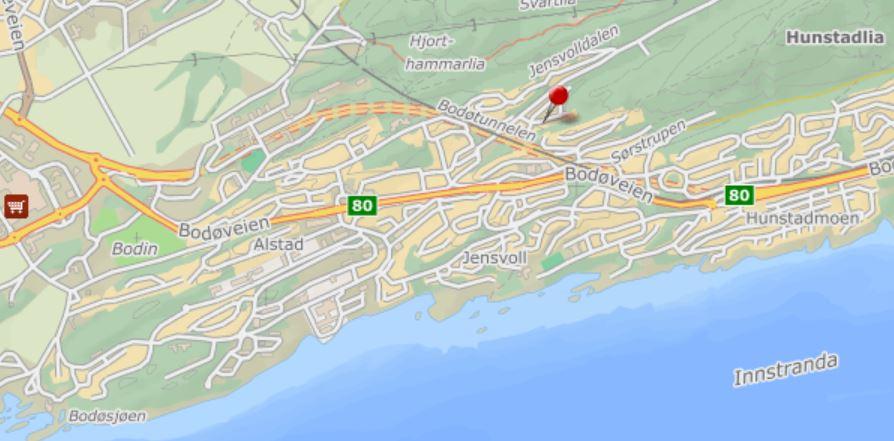 Kart Jensvolldalen